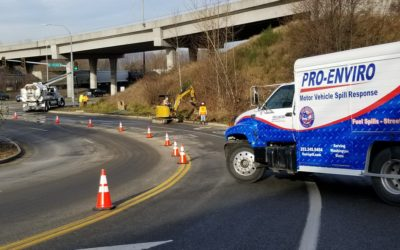 2017-12-24: Fuel Spill Clean Up Like it Never Happened!