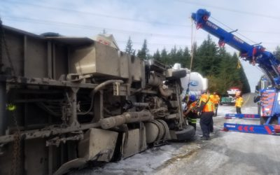 2019-10-12: Semi-Truck Spill Recovery At Tiger Mountain