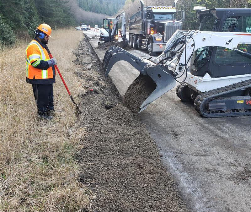 2019-11-01: Fuel Spill Cleanup On The I-90, Washington State