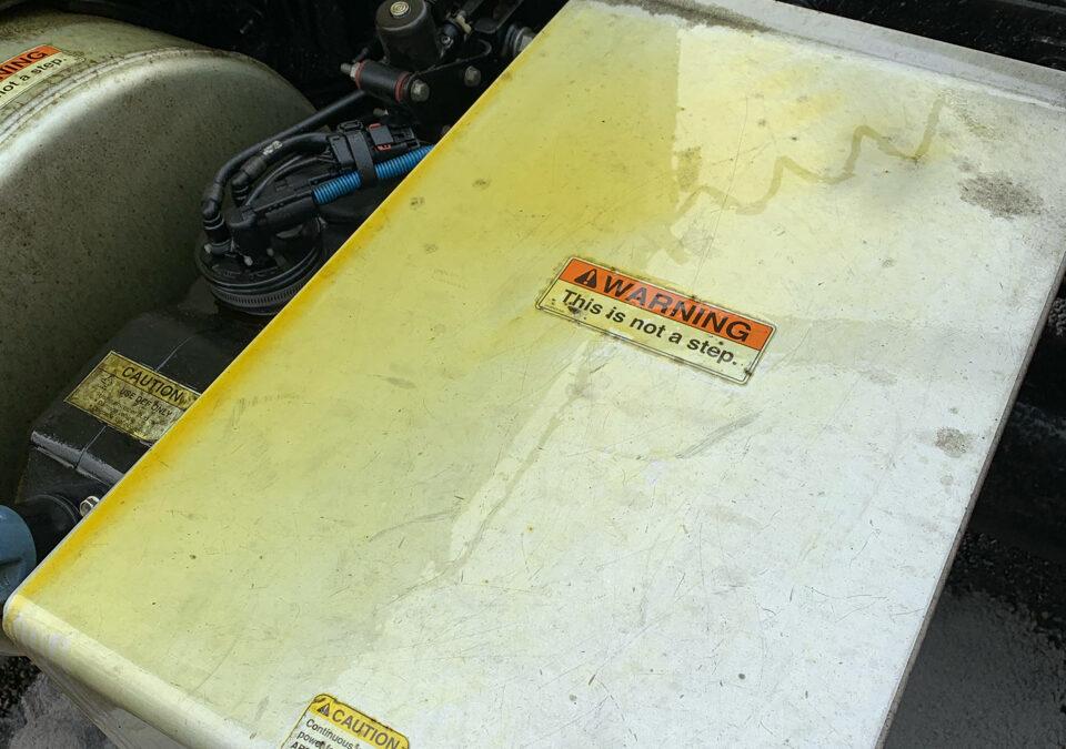 2020-09-21: Hydraulic Fluid Spill At Sacred Heart Medical Center, Spokane, WA